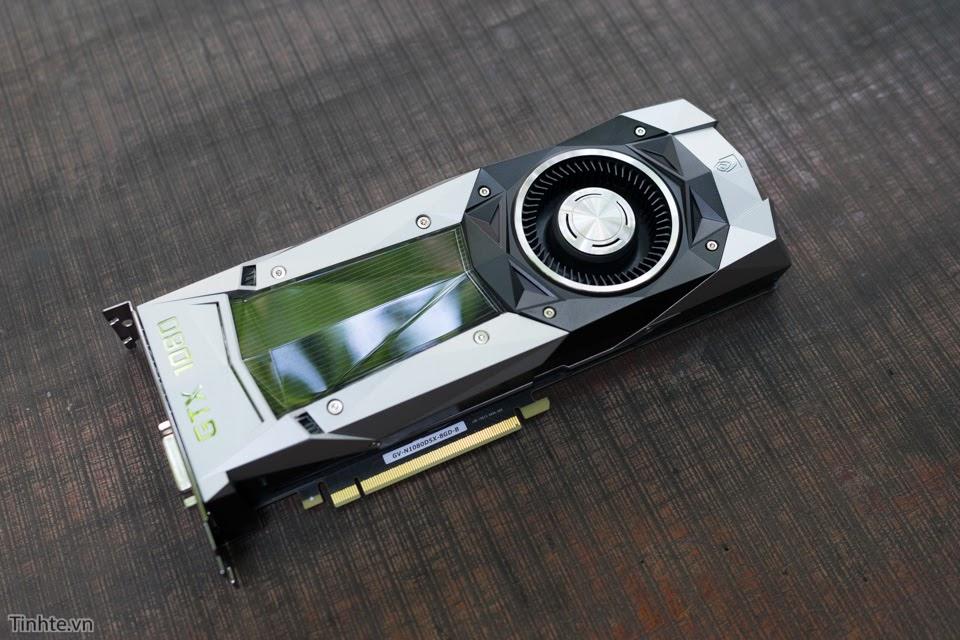 Trên tay GIGABYTE GeForce GTX 1080 Founders Edition: Thiết kế đẹp, phải đặt trước, giá 19,5 triệu