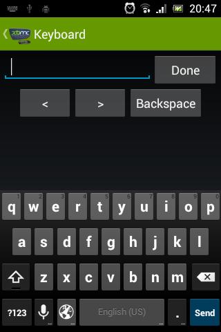 Скриншот XBMC4Xbox Remote