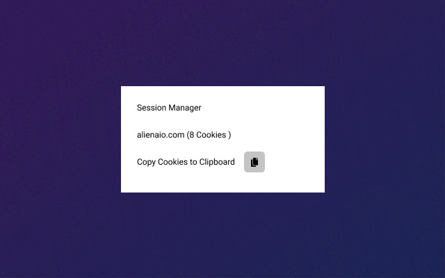 Session Manager for AlienAIO