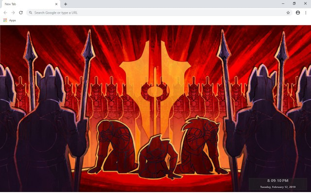 Tyranny New Tab & Wallpapers Collection