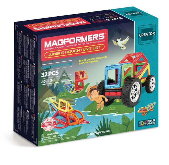 Contenido de Magformers® Jungle Adventure Set