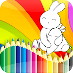 Bunny GO - coloring book