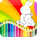 Bunny GO - coloring book icon