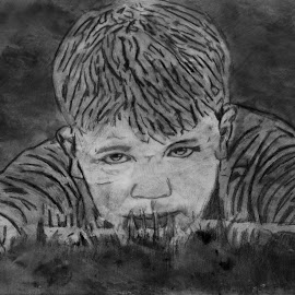 A boy by Alisa Wilkerson - Drawing All Drawing