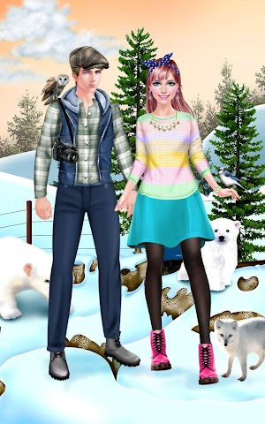 android First Date Salon - Winter Zoo Screenshot 6