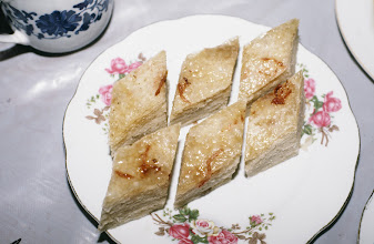 Photo: 11124 揚州/富春茶社/料理/千層油糕/パイ製の蒸し菓子