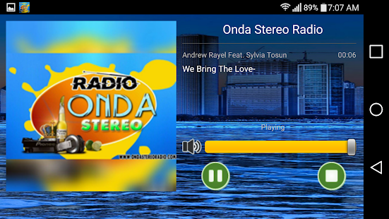onda stereo radio- screenshot thumbnail