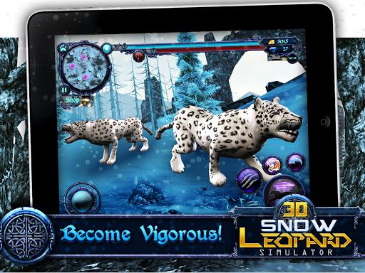 Snow leopard games