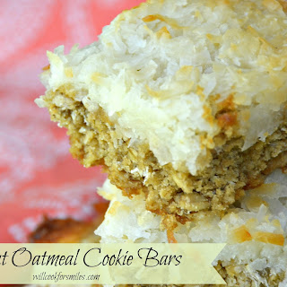 Coconut Oatmeal Cookies Bars Recipe