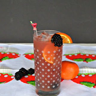 Blackberry Orange Sangria.