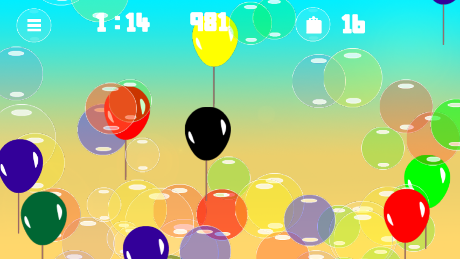 Bubbles 2- screenshot