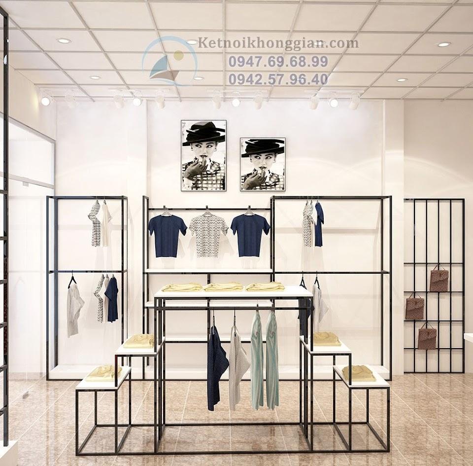 Thiết kế shop thời trang nữ công năng cao
