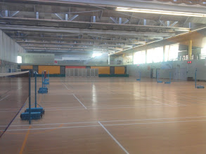 Photo: 07 January - Sports Complex - The day I played badminton during school hours.