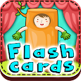 Flash cards for babies icon