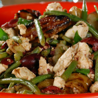 Grilled Fingerling Potato Salad with Feta, Green Beans and Olives Recipe