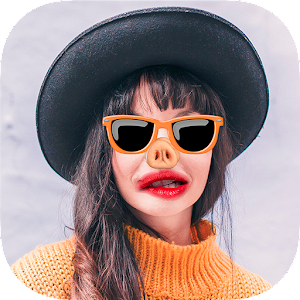Funny Face Editor: Mask Sticker Filters Icon