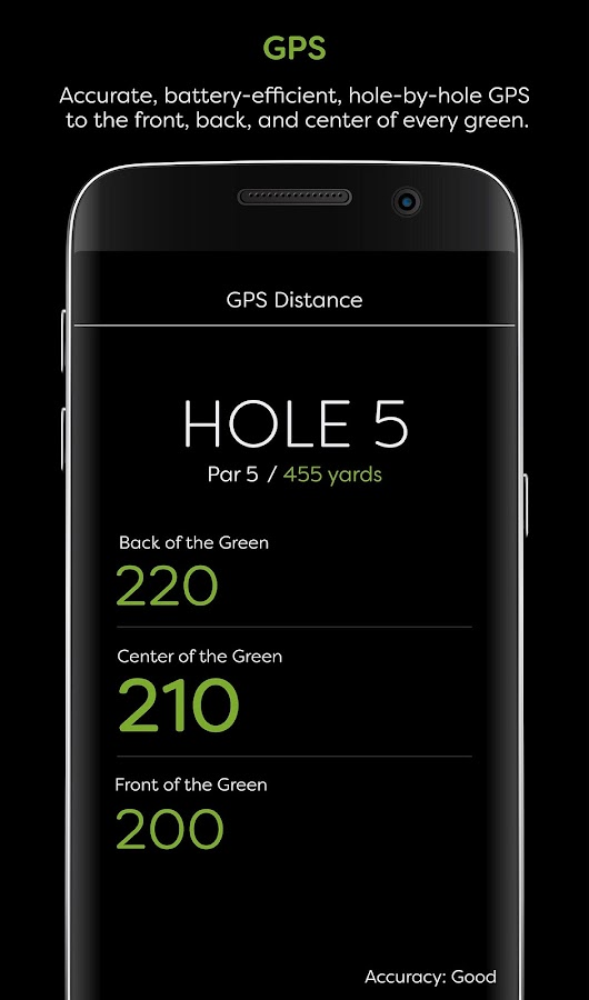 GolfStatus- screenshot