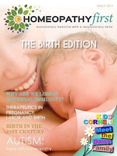Homeopathy First Magazine- screenshot thumbnail