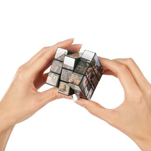 Custom Printed Rubik's Cube
