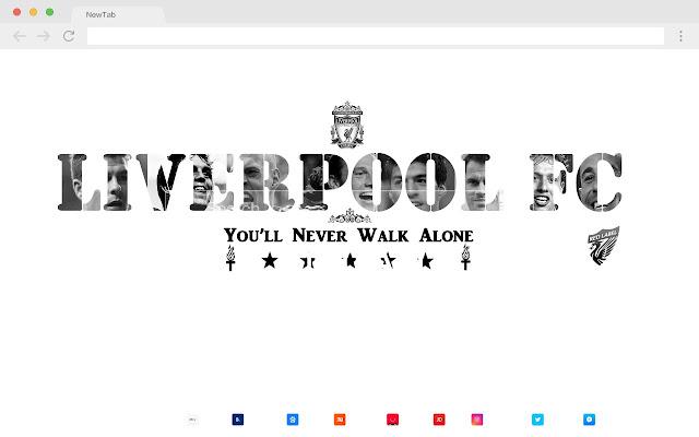 Liverpool FC HD Popular New Tabs Theme