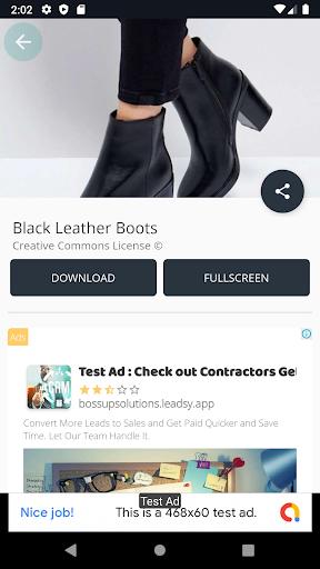 black leather boots screenshot 3