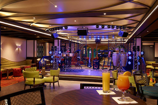 Hang out at Havana Bar on Carnival Panorama for a cool atmosphere and great mojitos.