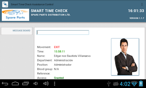 Time Check Assistance Control screenshot 0