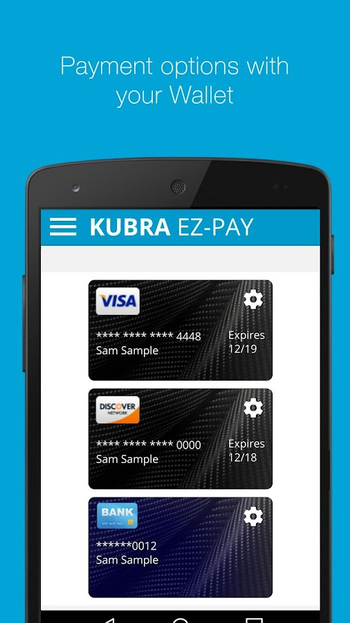 KUBRA EZ-PAY (Canada)- screenshot