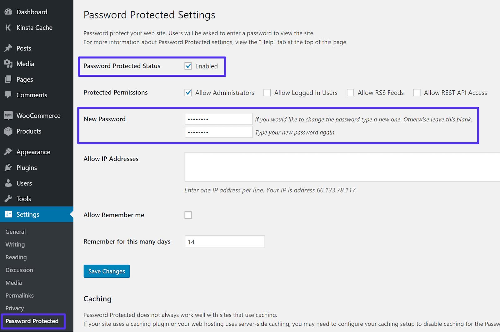 Cách mật khẩu bảo vệ toàn bộ trang web WordPress của bạn