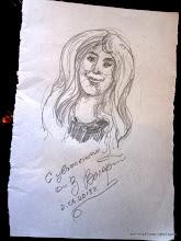 Photo: Valeri's portrait of Liz