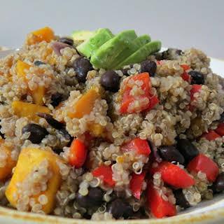 Black Bean and Butternut Squash Quinoa.