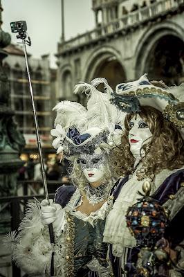 video selfie a Venice di massimo bertozzi