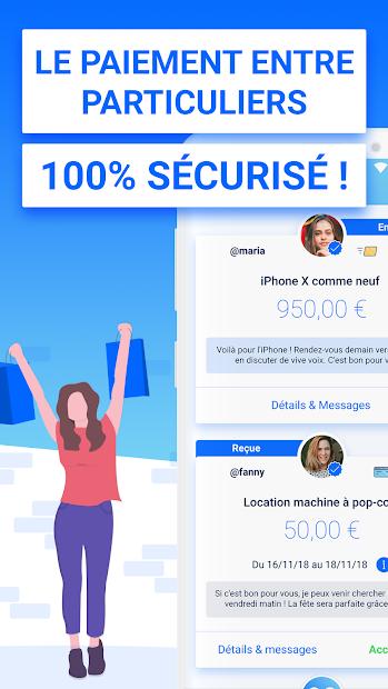 Obvy - Le paiement sécurisé des petites annonces Android App Screenshot