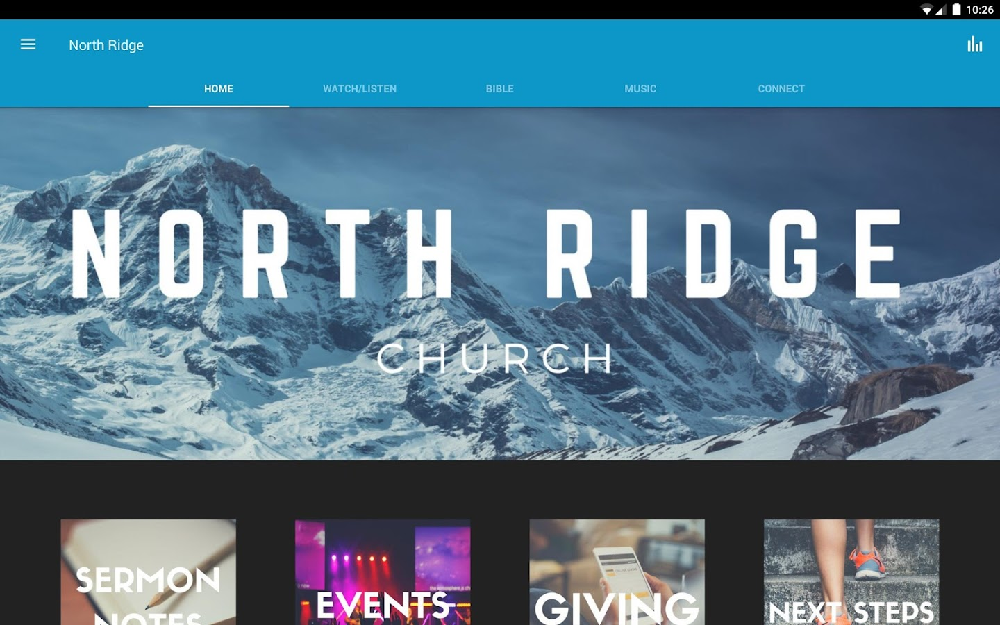 North Ridge Church Asheboro- screenshot