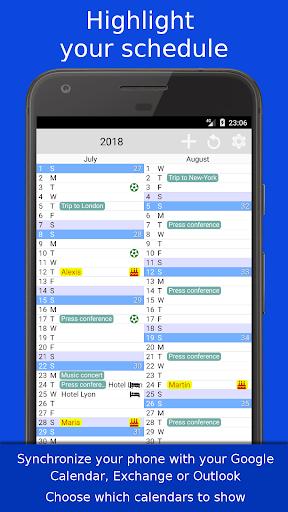 The Calendar Pro 2.9 screenshots 2