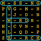 Missing Vowels Word Search