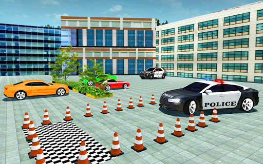 Police Cop Spooky Stunt Parking: Car Drive Parking filehippodl screenshot 4