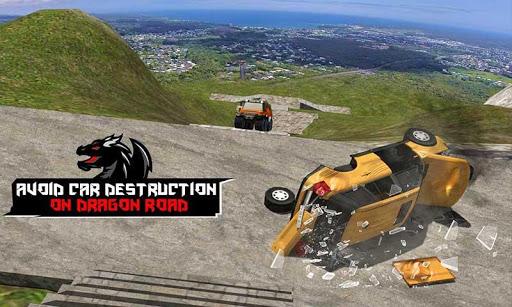 Cruiser Car Stunts: Dragon Road Driving Simulator apktram screenshots 6