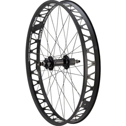 Quality Wheels Fat Rear Wheel Shimano Surly Other Brother Darryl