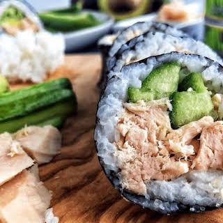 Tuna Sushi Rolls.