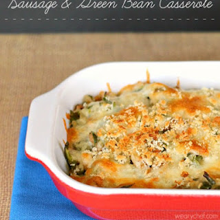 Sausage and Green Bean Casserole.