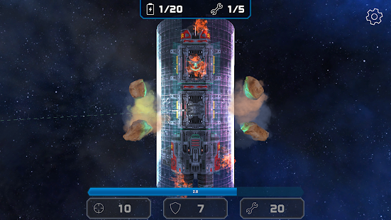 Asteroid Challenge: Free Survival Shooter Game- screenshot thumbnail