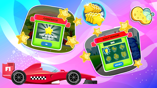 Car Games: Clean car wash game for fun & education screenshot 8
