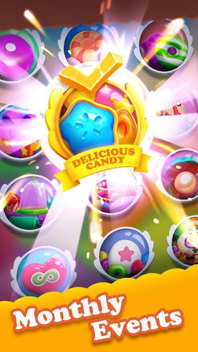 Crazy Candy Bomb - Sweet match 3 game apkdebit screenshots 4