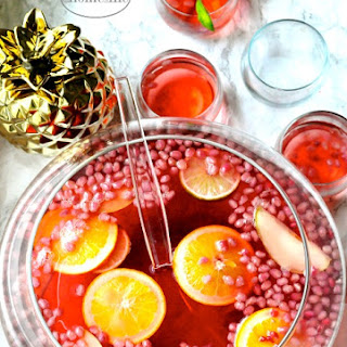 Christmas Holiday Alcohol Punch Recipes