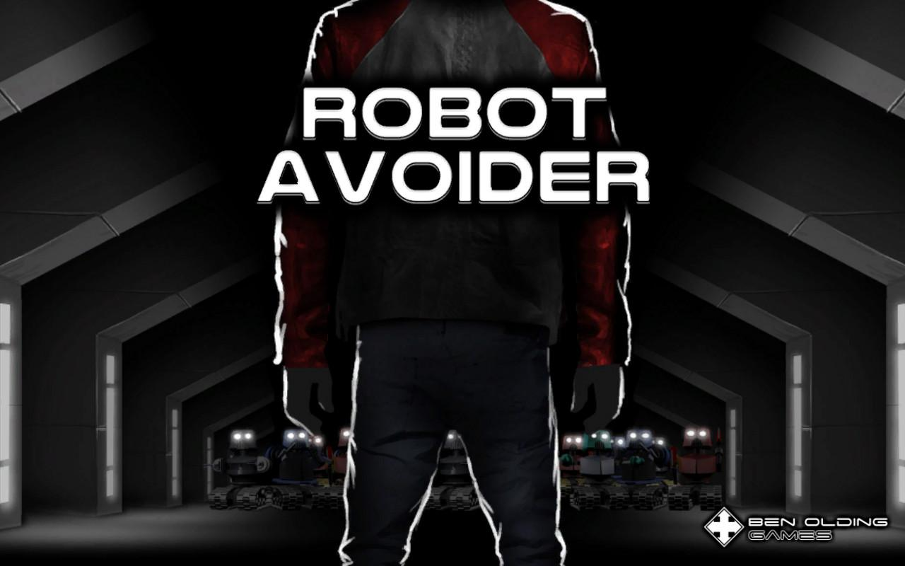 Robot Avoider- screenshot