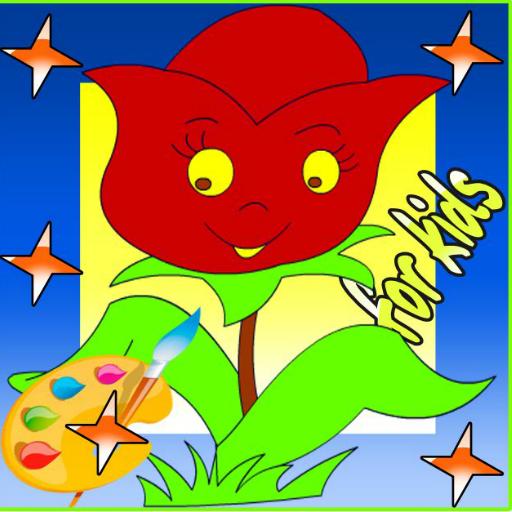 花卉油画 教育 App LOGO-APP開箱王