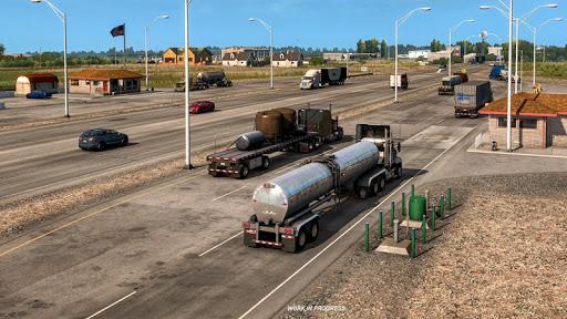 Oil Tanker Transport Simulation : Euro Truck Drive 1.2 screenshots 6