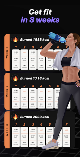 Weight Loss Running by Runiac screenshot 2