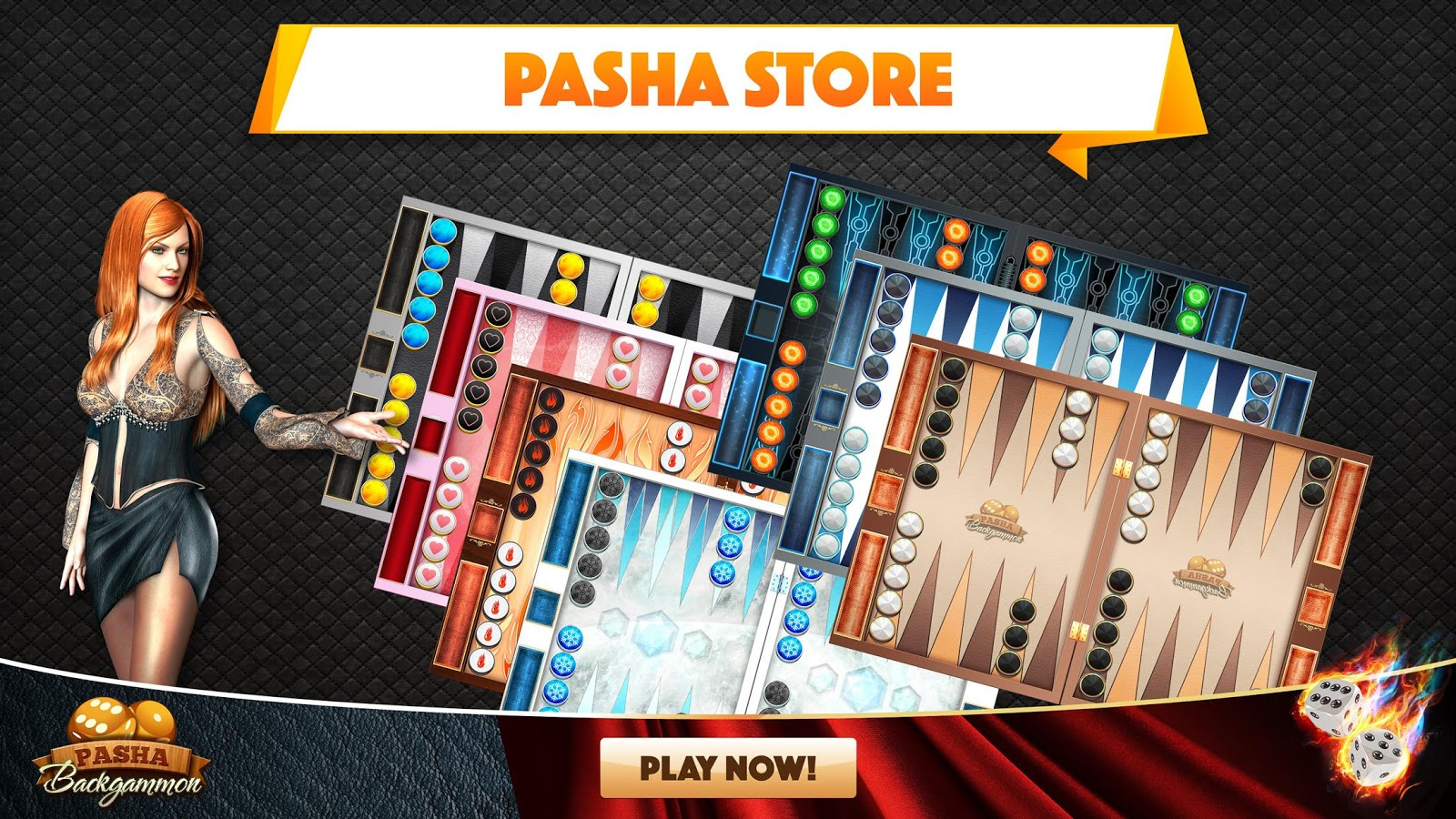 Backgammon Pasha- screenshot